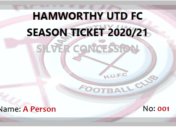 Silver Concession Season Ticket