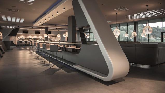 Restaurant Franz Innenraumdesign