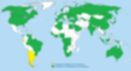 World Map - Exported Countires Export -