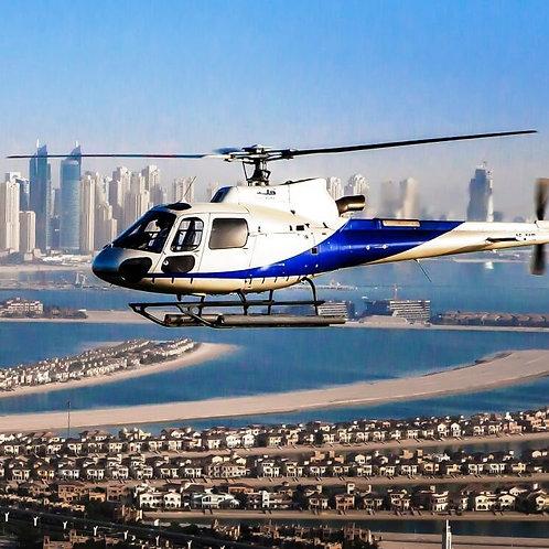 Vol en hélicoptère de 12,17,22 ou 30 minutes au dessus de Dubai
