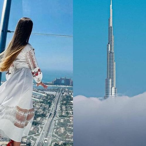 Visite de Burj Khalifa + Visite Admirez La Palme