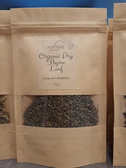 Organic Dry Thyme for Infusions