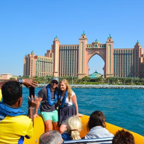 Visite en bateau de Dubai pendant 90min