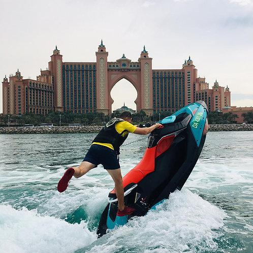 Tour en Jet ski surpuissant pour Conducteur Confirmé 1h
