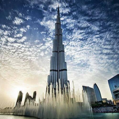 Visite du Burj Khalifa 124 et 125e etage