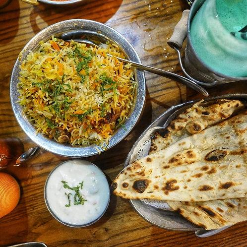 """Restaurant Spécialité Indienne """" Grub Shak """" à Dubai"""