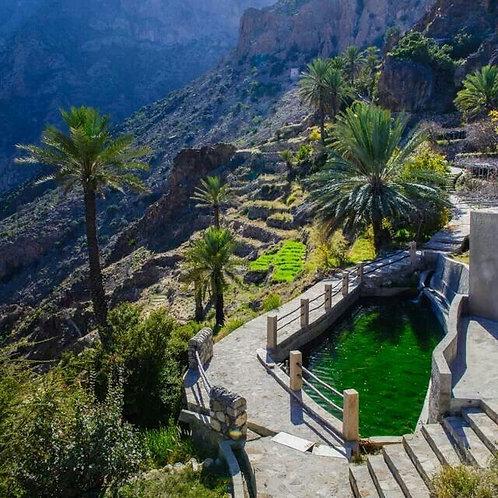 La Beauté du Village de Wakan à Oman ( + Barqa,Thowarah,Wadi Mistal)