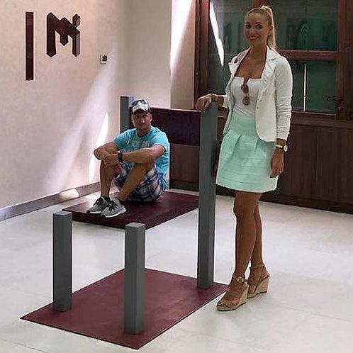 Musée des illusions à Dubai