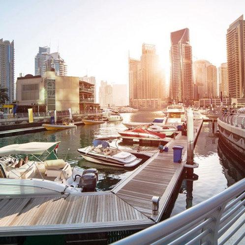 Visite du Dubai à la mode Marina +Medinat Jumeirah+Visite B.Khalifa +Transport