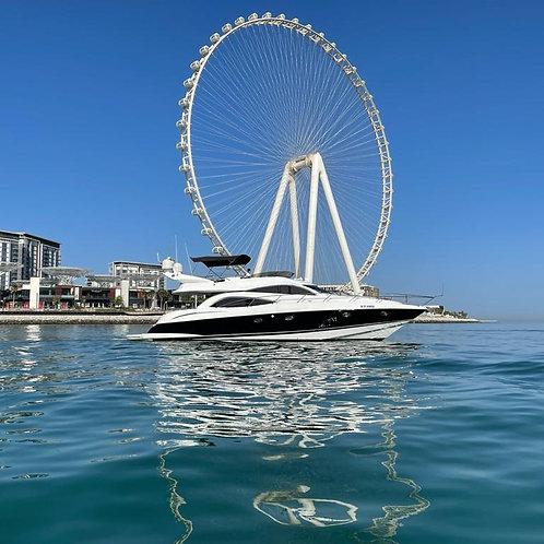 Location de yatch privé à Dubai 56Ft Sunseeker