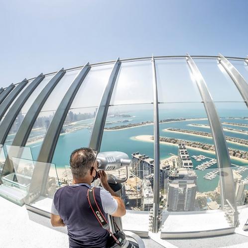 Visite Admirez La Palme à Dubai