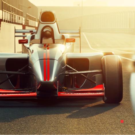 Formule 1 expérience  sur circuit à Dubai