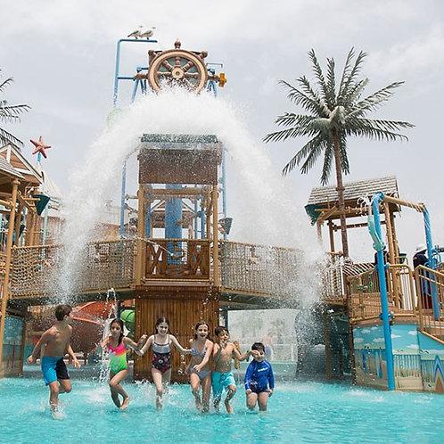 Entrée du Parc Laguna Waterpark à Dubai