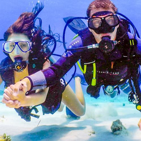 Initiation à la plongée sous marine à Dubai avec transport + Photos et Vidéos