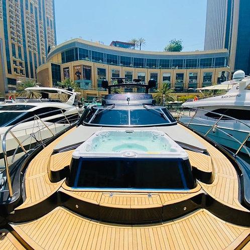 Location de yatch privé à Dubai 90Ft Gult Craft