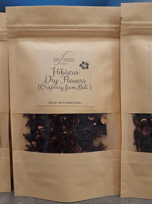 Organic Dry Hibiscus Flowers for Infusions