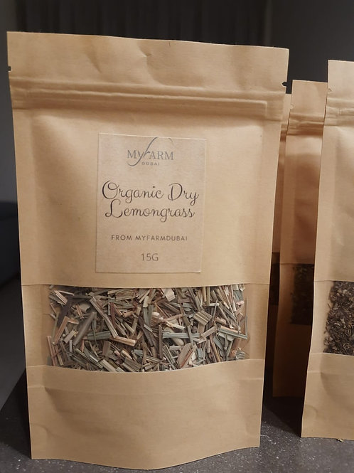 Organic Dry Lemongrass for Infusions