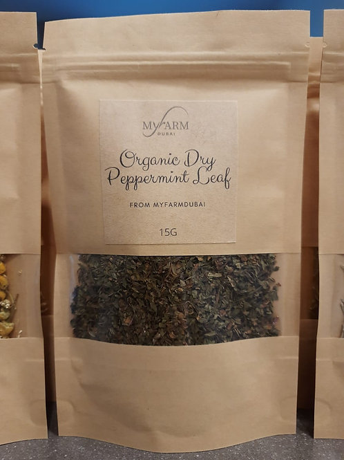 Organic Dry Peppermint for Infusions