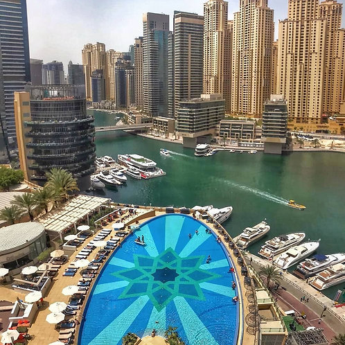 Wane by Somiya Piscine privée à Dubai