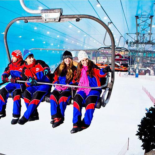 Billet pour 2h de Ski à Dubai