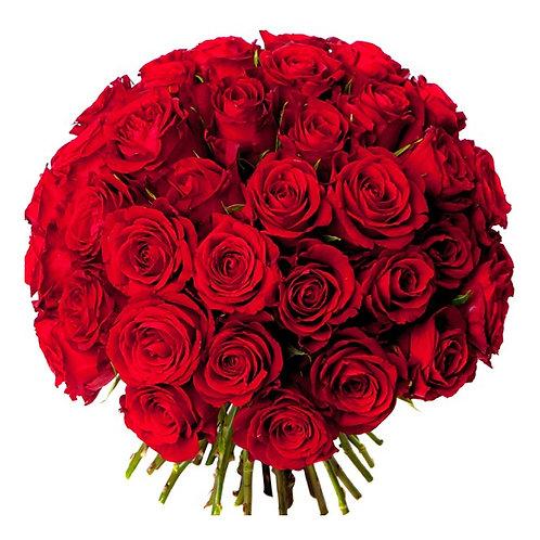 Bouquet de 50 Roses  livré à Dubai