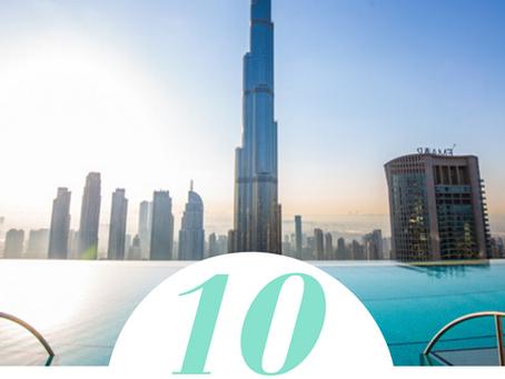 Les 10 Plus Belles Piscines Rooftop à Dubai / The 10 Most Beautiful Rooftop Pools in Dubai