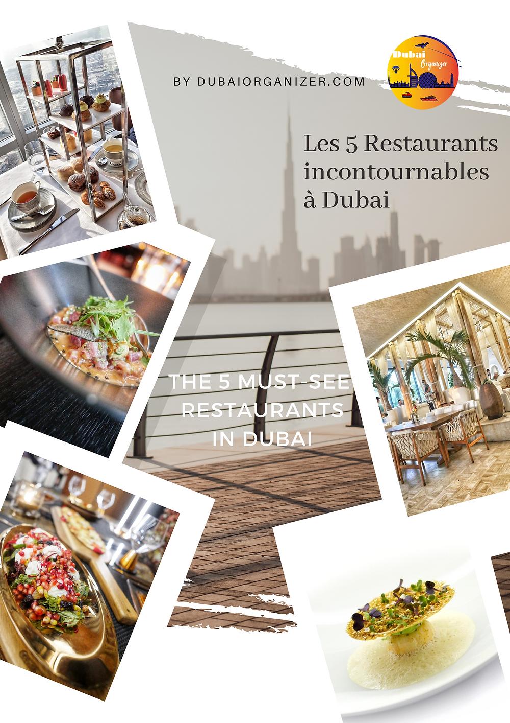 Les 5 restaurants incontournables à Dubai