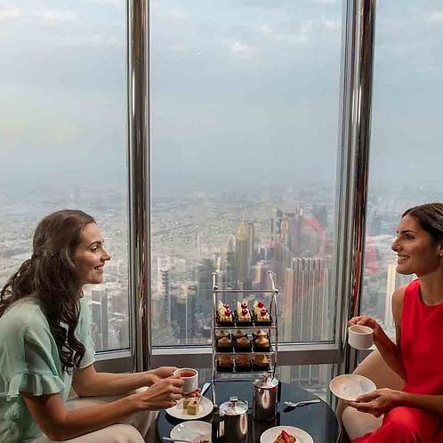 Visite du Burj Khalifa 152 153+ 154ème étage + Thé dans les nuages de Dubai