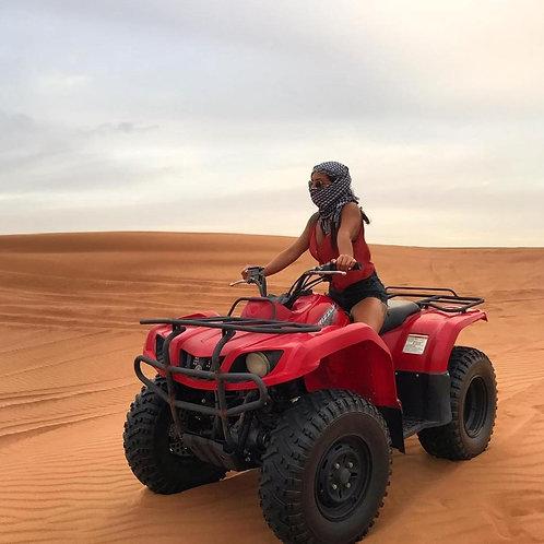 Session de 1 h de Quad dans le désert de Dubai