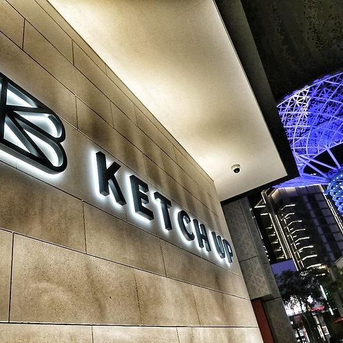 """Restaurant """" Ketchup"""" à Dubai"""