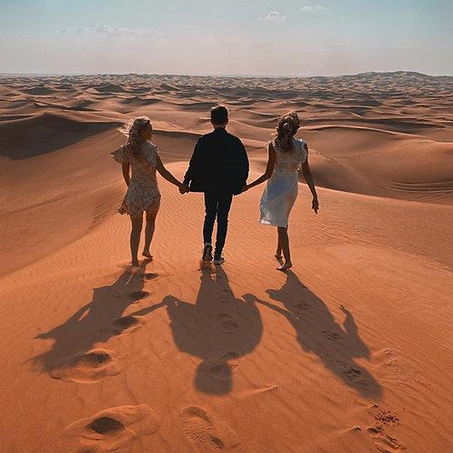 Safari dans le désert avec transport, Camel, surf,dinner spectacles,quad...