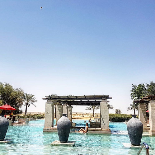Journée dans un resort de luxe dans le désert de Dubai Acces piscine