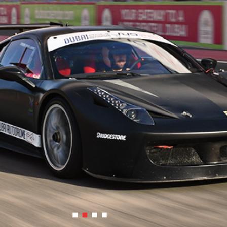 Ferrari GT Experience sur circuit à Dubai