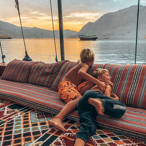 Journée croisère à Oman ( Dibba Musandam ) avec transport depuis Dubai et visa