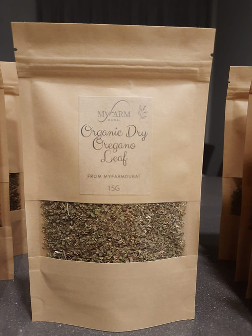 Organic Dry Oregano for Infusions