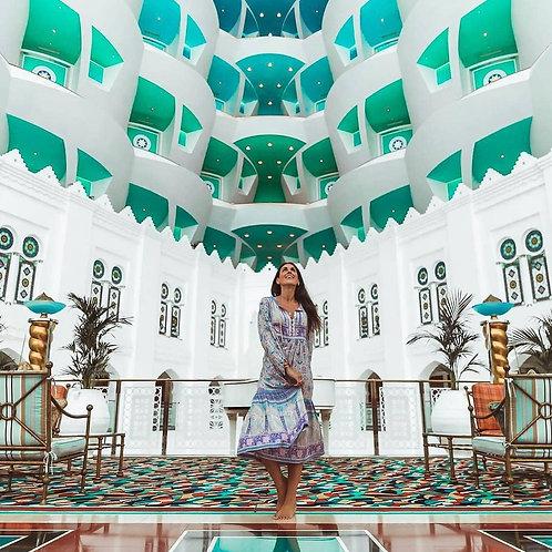 Pause thé au Burj Al Arab