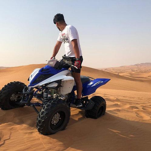 Session de Quad ( Raptor) de 1h dans le désert à Dubai
