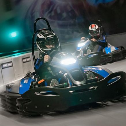 Session de Karting électrique à Dubai au centre ville