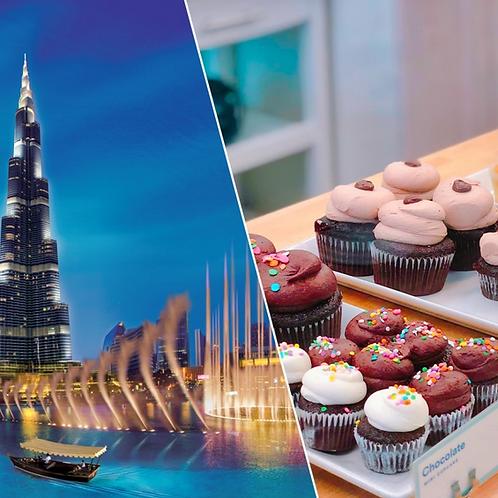 Visite du Burj Khalifa 124 et 125e etage + Café et patisserie