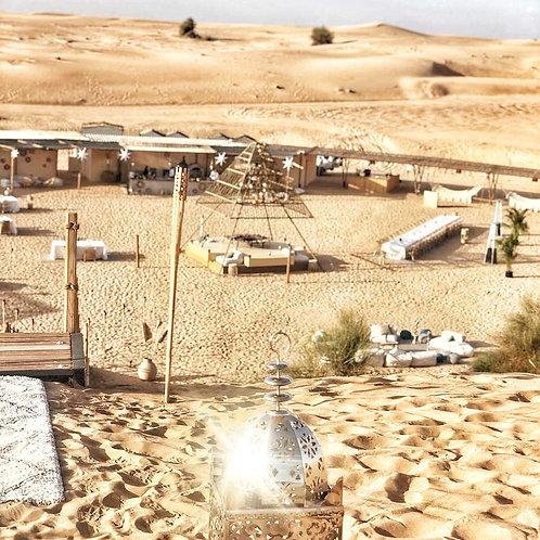 Camp chic avec Dinner dans le désert de Dubai  Activités et Spectacles