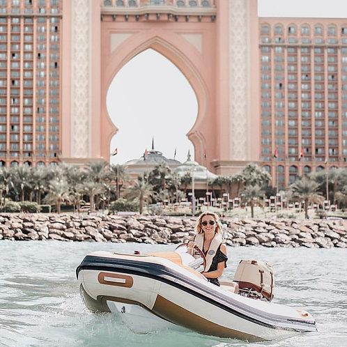 Location de bateau pendant 90min ( sans permis bateau )