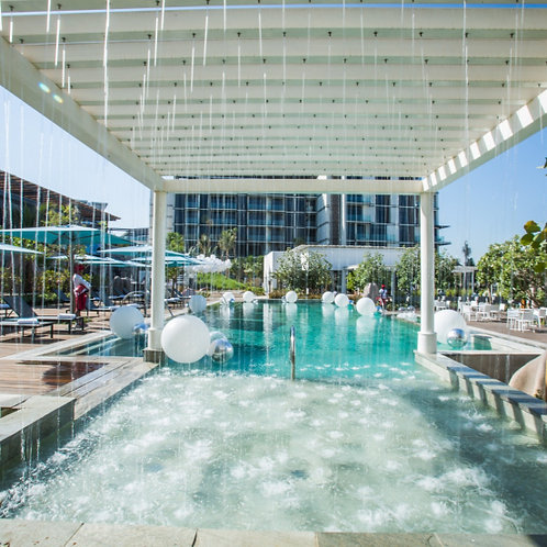Cove Beach club privée à Dubai