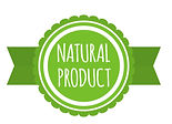 natural-product-badge-round-bio-food-log