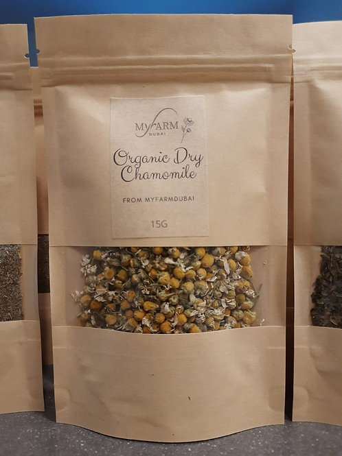 Organic Dry Chamomile for Infusions
