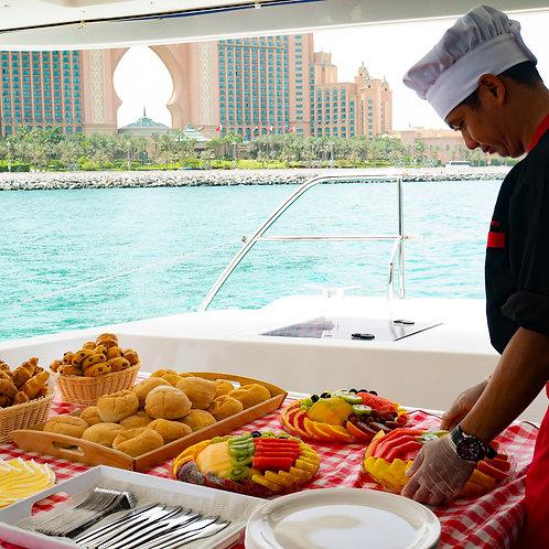 Croisière sur un yacht avec Petit déjeuner