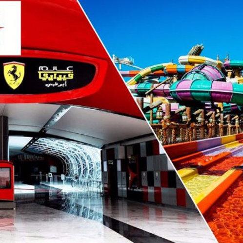 Entrée pour Ferrari World à Abu Dhabi + Yas Waterworld