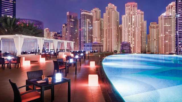 Rooftop Shades Adress Dubai Marina