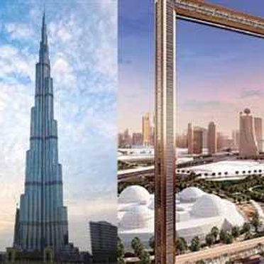 Visite du Burj Khalifa 124 et 125e etage + The Frame