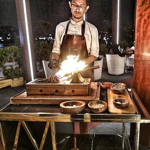 """Restaurant Gastronomique  """" Doors """"à Dubai"""