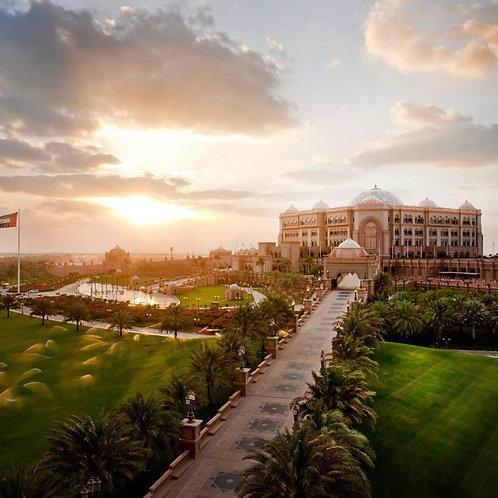 Visite de Abu Dhabi, Mosquée,Palace... + Transport depuis votre hôtel à Dubai